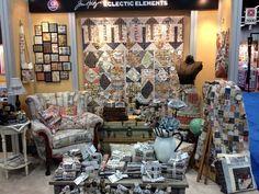 eclectic elements – spring quilt market 2013…