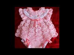 Ropa de bebe tejidas - YouTube