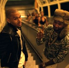 Gotta love this scene in the music video. Chris Brown- Loyal