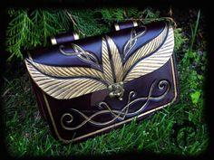 Elf messenger bag by Feral-Workshop.deviantart.com on @DeviantArt