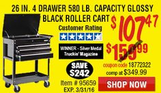 Harbor Freight buys their top quality tools from the same factories that supply our competitors. Harbor Freight Tools, Discount Price, Coupons, Shop Now, Coupon