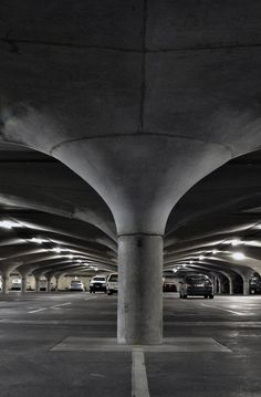 Melbourne University underground carpark-looks like a place to film Mad Max...oh they did.