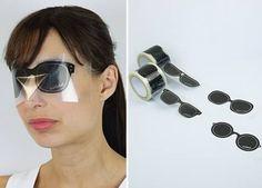 Totally Crazy Glasses - Sticker Glasses