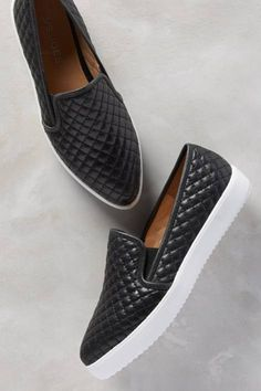 Anthropologie Quilted Slip-On Sneakers Women's Shoes, Sock Shoes, Cute Shoes, Me Too Shoes, Shoe Boots, Zapatillas Peep Toe, Looks Pinterest, Latest Shoes, Crazy Shoes