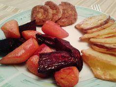 Balzsamecetes sült cékla/répa zabfasírttal Sausage, French Toast, Paleo, Dinner, Breakfast, Food, Dining, Morning Coffee, Sausages