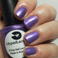 Lillypad Lacquer Purple People Eater