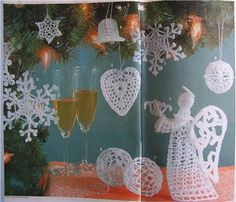 Новогоднее крючком - Tatiana Alexeeva - Picasa Web Albums