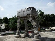 VW Bulli Imperial Walker on http://www.drlima.net