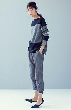Vince Sweater & Trousers #nordstrom