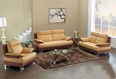 Brown Leather Living Room Furniture Bedroom Design With Living Room Leather Furniture Luxury Living Room, Leather Living Room Set, Living Room Sofa, Living Room Sets, Corner Sofa Living Room, Modern Bedroom Decor, Living Room Leather, Living Room Furniture Styles, Latest Living Room Designs