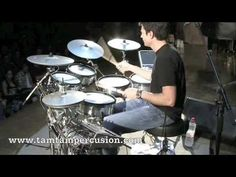 Cool Drum solo by one of my favorite drummers, Johnny Rabb.