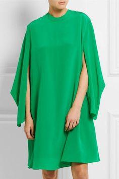 BALENCIAGA Crepe de chine dress
