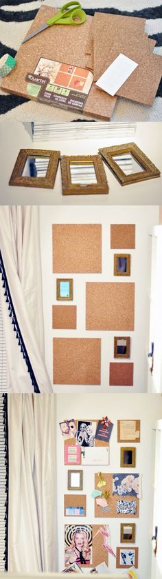 Awesome for a teen room or office space. you could pin boxes and folders to it for even more storage as well.