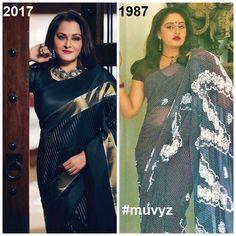 Jayapradha then and now Bollywood Photos, Bollywood Stars, Bollywood Celebrities, Bollywood Actress, Beautiful Girl Indian, Most Beautiful Indian Actress, Beautiful Actresses, Gorgeous Women, Madisar Saree