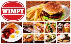 Wimpy - Semi fast food, they cooked the burgers on a hot plate in the restaurant to eat in or take away. You could hang out in there all evening!