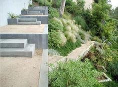 stairs, walls + planters ~ elysian landscapes