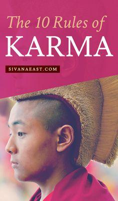 10 Rules of Karma