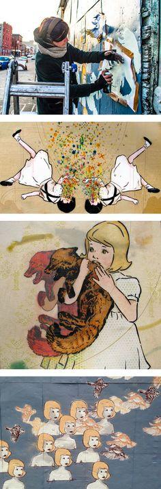 Amanda Marie Stencil Art