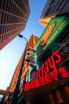 Murray's Steak House in downtown Minneapolis.  An icon since 1946.