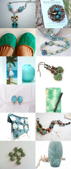 Ocean Dreaming by Jennifer Ross on Etsy--Pinned+with+TreasuryPin.com