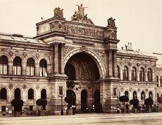 Palais de l'Industrie, Paris. Sede del Salone dei Rifiutati, 1863.