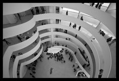 Guggenheim, NY - I ♥ art galleries