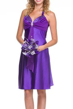 A Line/Princess Halter Sweetheart Neckline Home Coming Party Holiday Cocktail Short Prom Dress With Ruffle