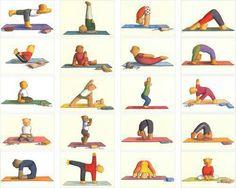 Yoga houdingen om na te doen