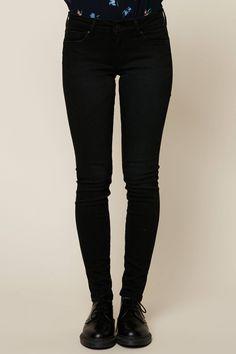 Pepe Jeans Jean skinny Soho noir pas cher prix Jeans Femme Monshowroom 79.90 € TTC