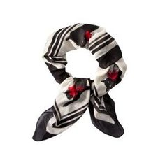 Jason Wu for Target White Cat Printed Scarf