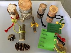 Nature Crafts, Place Cards, Place Card Holders, Earth, Education, Onderwijs, Learning, Mother Goddess, Natural Crafts