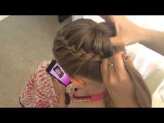 Lace Braided Bun by SweetHearts Hair Design - YouTube still very complicated but much simpler than it looks. Might try it one day when she's a big girl.