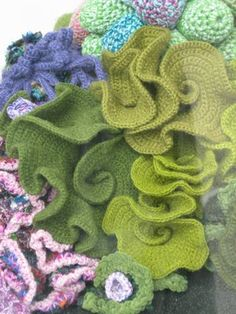 Hyberbolic Crochet Coral Reef