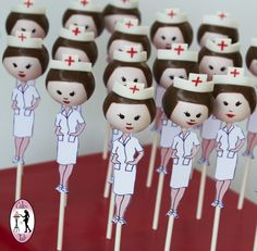 Check it out! Nurse cake pops  made by Talipops www.talipops.com www.facebook.com/talipopsart