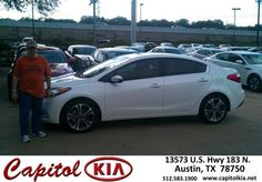 #HappyAnniversary to Ralph Mothner on your 2014 #Kia #Forte from Andrew Meyer at Capitol Kia!