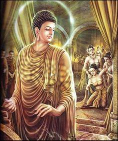 Buddha's Life Story Beautifully Painted Buddha Life, Buddha Art, Reiki, Budha Painting, Theravada Buddhism, Buddha Quotes Inspirational, Buddhist Practices, Buddha Sculpture, Gautama Buddha