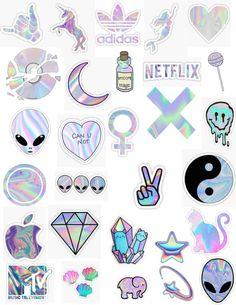 Really nice printable stickers Snapchat Stickers, Phone Stickers, Journal Stickers, Cool Stickers, Printable Stickers, Planner Stickers, Wallpaper Stickers, Hologram Stickers, Tumblr Stickers