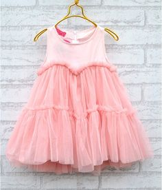 baby girls summer dress two layers,3,4,5,6,7T Baby girl clothes skirt pink tutu #baby #summer