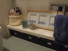 HOME: Looking for a low bathroom bench? Here's one to hack.