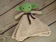 Lovey de Yoda por JulietandEloise en Etsy