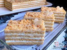 Sbírka 16 receptů na medové zákusky, které nesmí chybět na velikonočním stole. | NejRecept.cz Krispie Treats, Rice Krispies, Vanilla Cake, Baking, Recipes, Cupcake, Gardening, Food Ideas, Cook