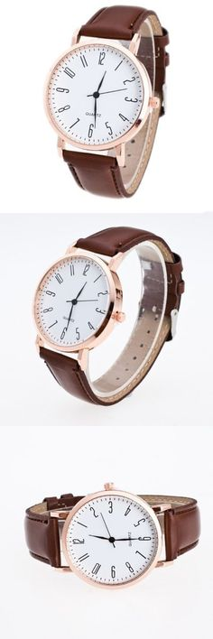 Classic Simple Casual Belt Watch -$2.67