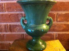 McCoy Pottery  Large Augusta National Green Art by delovelyness, $89.65