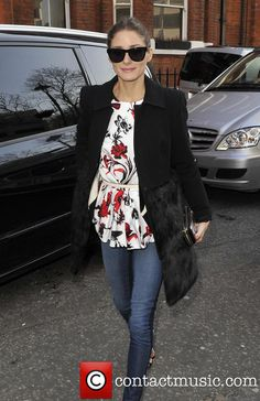 Olivia Palermo - Anya Hindmarch - Outside Arrivals...