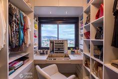 Dressing room by camila chalon arquitetura Bedroom Organization Diy, Home, Master Bedroom Closet, Closet Bedroom, Closet Decor, Trendy Bathroom, Build A Closet, Closet Makeover, Diy Cupboards