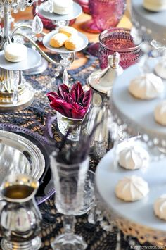 Biltmore Estate-inspired party from Serafina and the Twisted Staff Tea Party at Kara's Party Ideas. See the details of this and the book release here!