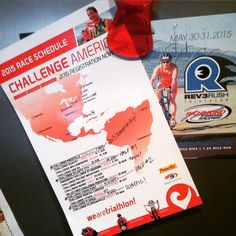 Ok, 2015, I'm ready to race with @challengeamericas and @rev3tri !! Knoxville, Atlantic City, Cedar Point & Florida, and some Rev3 Rush to really keep my heart pumping!  So many great choices; hope to see YOU there! #tridailychallenge #allabouttheathlete #challenge_famil