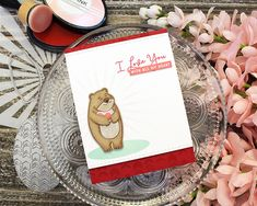 Introducing Bear Hugs, Shape Shifter: Oval and You Make My Heart Soar Valentine Day Cards, Valentines, Valentine Ideas, With All My Heart, My Love, You Make Me, How To Make, Your Cards, Bear Hugs
