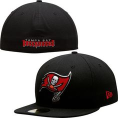 Tampa Bay Buccaneers hat | Tampa Bay Buccaneers New Era Black/Black 59FIFTY Fitted Hat