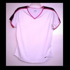 I just discovered this while shopping on Poshmark: Final Price Cut!Nike Workout Top. Check it out! Price: $7 Size: M, listed by lindz13